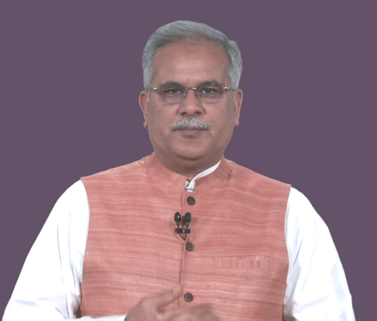 Chief Minister Mr. Bhupesh Baghel addressed the people of the state