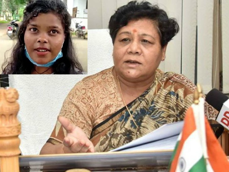 Governor wishes Kumari Nirmala, the first girl to pass class 12 of Birhor tribe