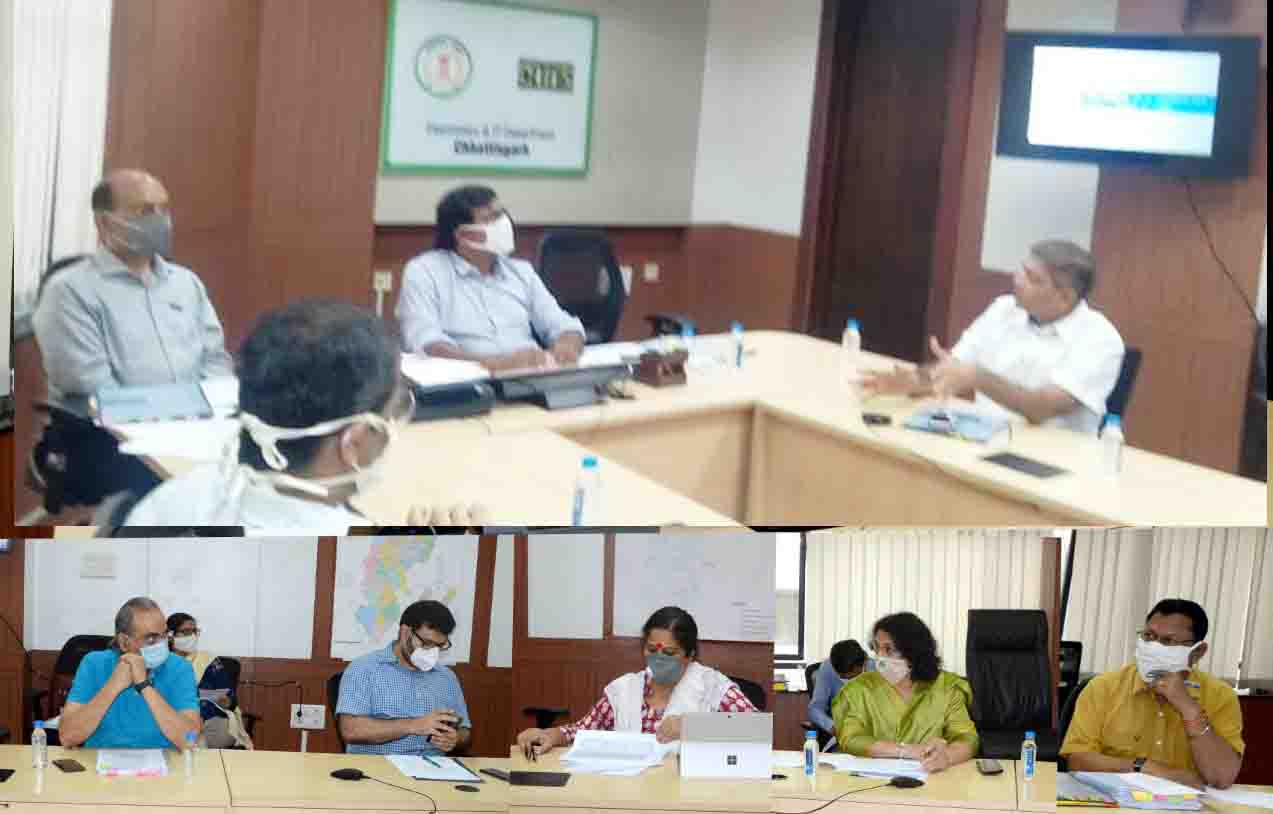 The Chief Secretary reviewed the priority schemes of the Chief Minister in-depth