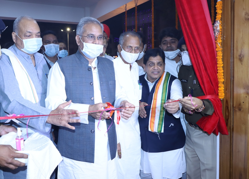 Chief Minister inaugurated a well-equipped city Kotwali built with modern decor