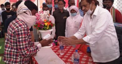 Forest Minister Mr. Akbar participated in various programs organized at Vananchal in Kabirdham district