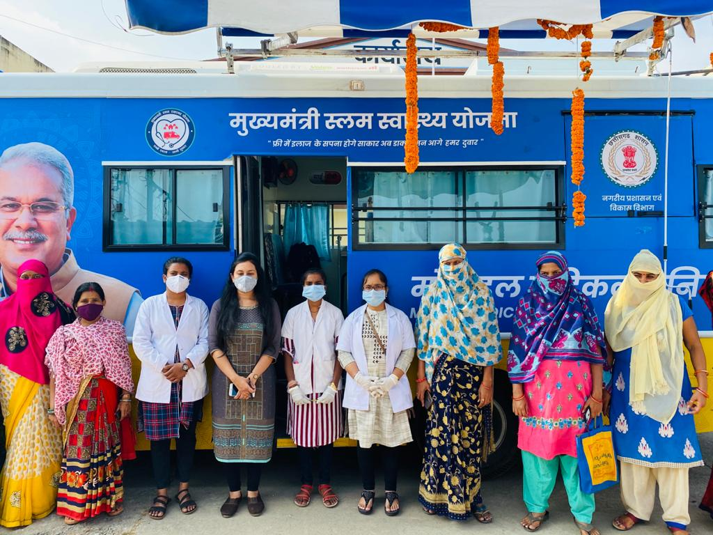 Sanjeevani became Dai-Didi clinic and mobile medical unit for patients