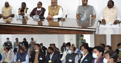 Chief Minister Mr. Bhupesh Baghel discussed with officials
