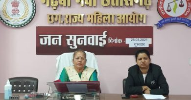 Recommendation of suspension of Central Administration of Sakhi Center