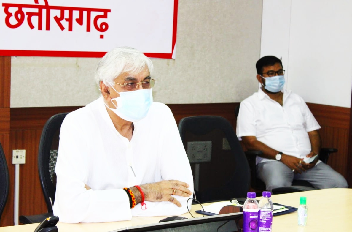 Health Minister Mr. T.S. Singhdeo