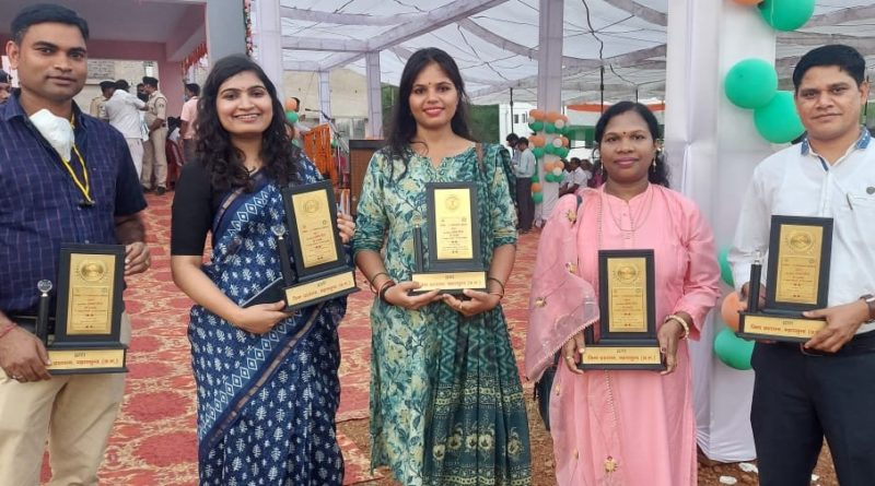 Employees honored